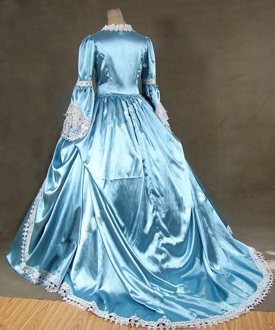 Gratis verzending Marie Antoinette Gothic Victoriaanse baljurk - Jurken voor bijzondere gelegenheden - Foto 4