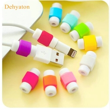 Dehyaton Cable Protector Data Line Colors Cord Protector Protective Case Long Size Cable Winder Cover For