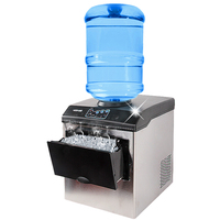 25KG 24h Commercial Ice Cube Maker Machine Bullet Round Ice Ice Block Making Factory Machine Ice