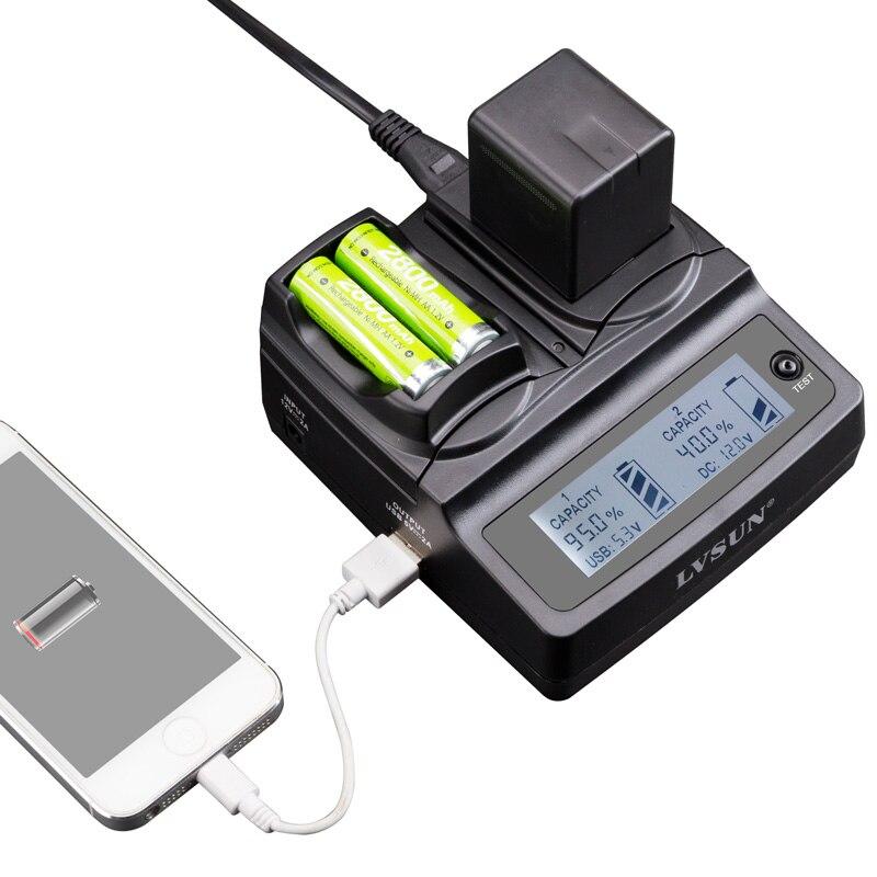 Udoli LP-E8 LP E8 LPE8 Caméra Batterie Double Chargeur Pour appareil photo CANON EOS 550D 600D 650D 700D Rebelles T5i T4i T2i T3i Baiser X5 X6i Batteries
