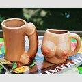 Novidade Caneca de Café Cerâmica de Mama e Pênis Sexy Casal Presente de Aniversário Xícara de Leite e Amantes Da Moda Caneca Drinkware 2 pçs/set SH223