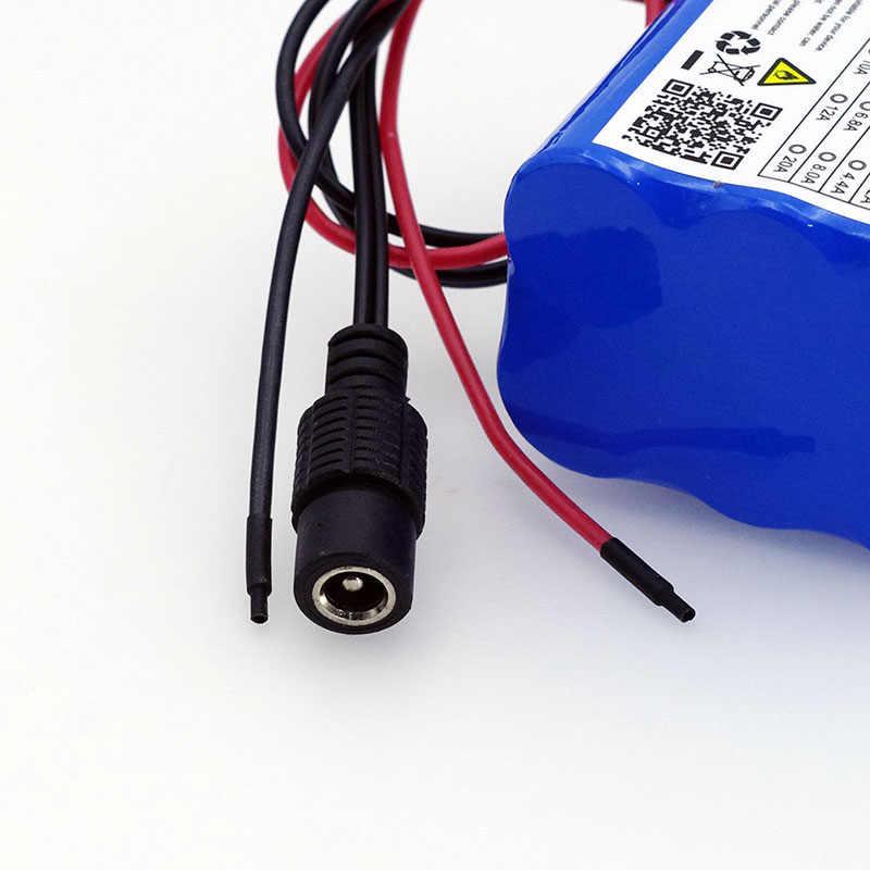 VariCore 12 ボルト 4.4 ああ 4400 mah 18650 充電式電池 12 ボルト bms リチウム電池保護ボード + 12.6 ボルト 1A 充電器