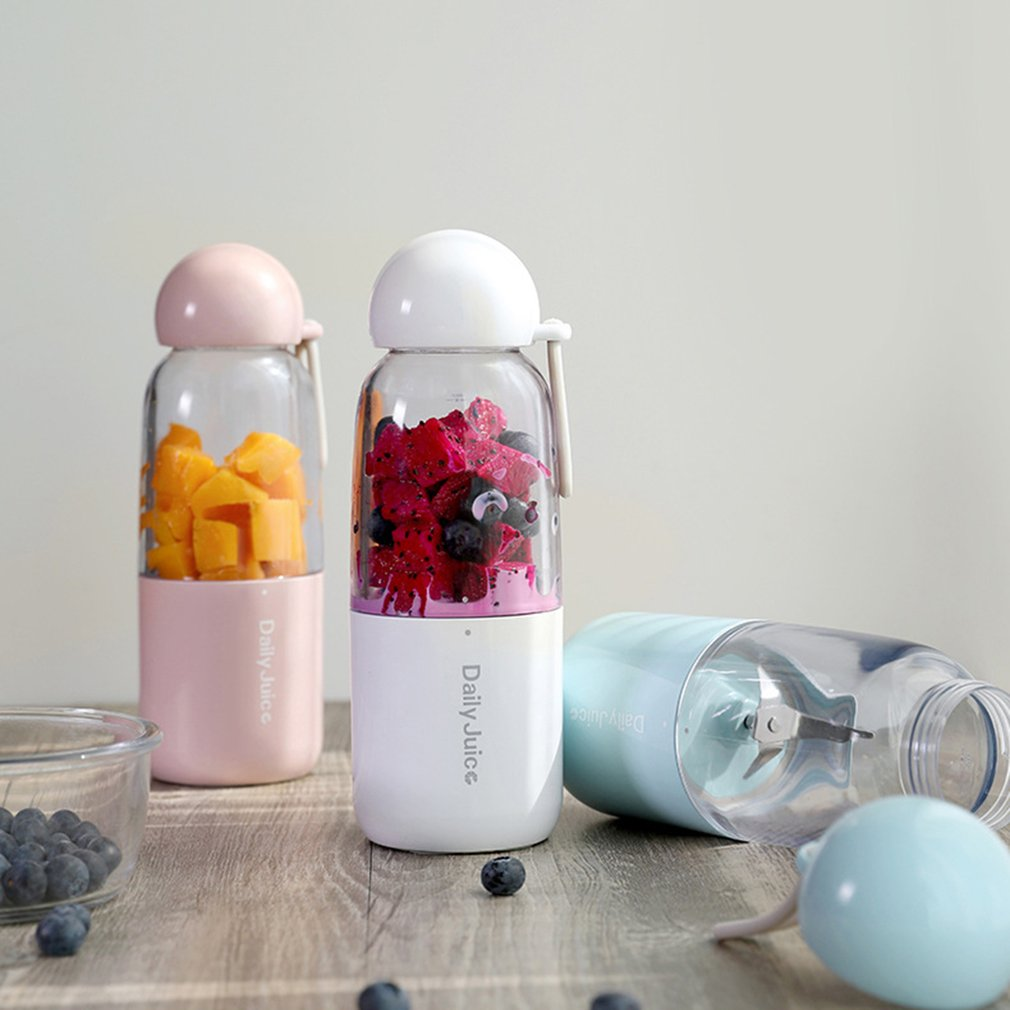 350ml USB Juicer Juice Maker Bottle Mini Portable Cup Vegetables Fruit Squeezers Extractor Blender Household Travel Handheld new portable mini juice mixer household fully automatic vacuum preservation juicer fruit vegetables juice maker