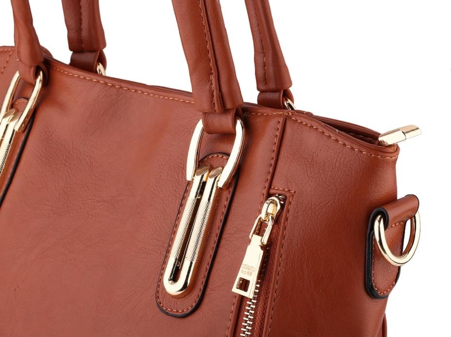 Moda qadınların orijinal dəri çantaları patentli lüks marka - Çantalar - Fotoqrafiya 4