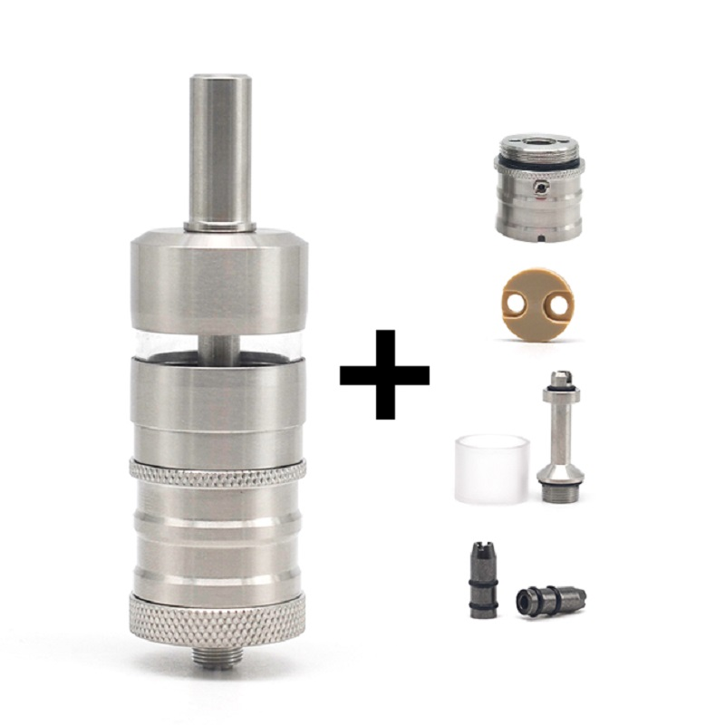 Cigarette Electronic ULTON Fev 4.5M Style 23mm RTA Rebuildable Tank Atomizer 4.5ml Vape Tank  For 510 Thread Mech Mod/vape Mods
