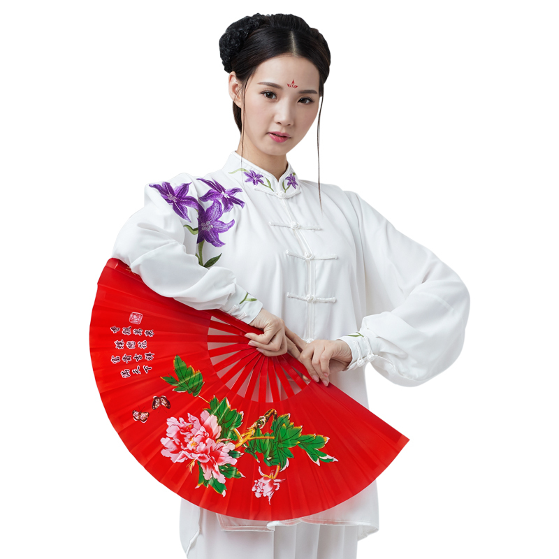 Embroidery Tai Chi Uniform Woman Kung Fu,martial Art Suit Chinese Stlye Sportswear