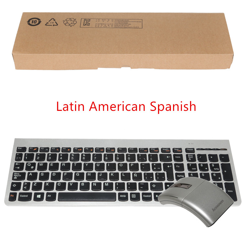 cb16219a808 MAORONG TRADING Original Mute Comfortable Keyboard and Mouse Combo for  Lenovo A730 High end AIO Machine Supporting RU DE ES -in Keyboard Mouse  Combos from ...