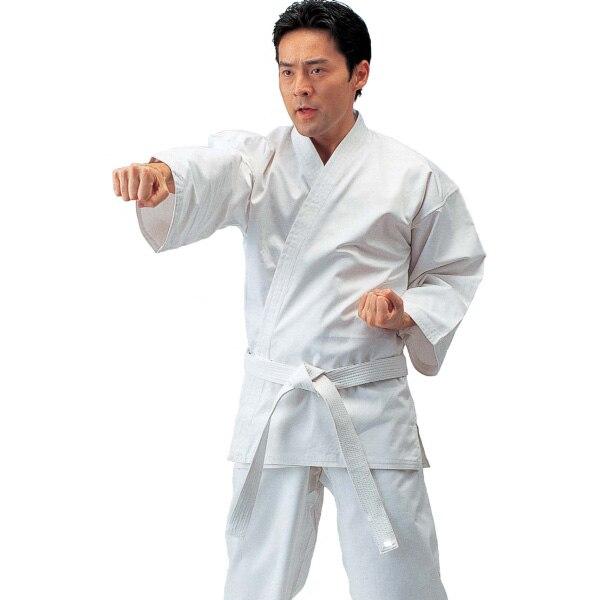 Высокая Качественный хлопок карате форма для детей и взрослых Каратэ костюм каратэ производительность Костюмы для мужчин, женщин, детей