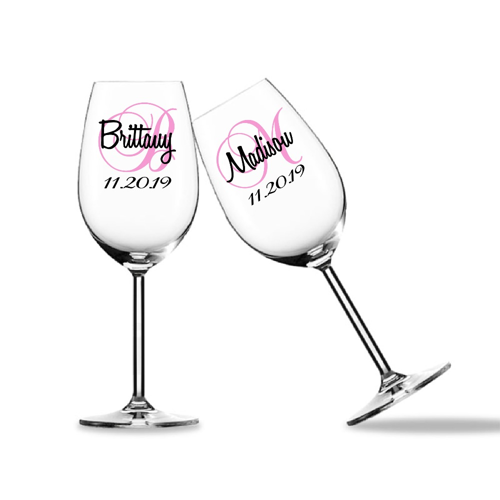 Time To Drink Champagne And Dance On The Table Wine Bottle Vinyl Decal Sticker