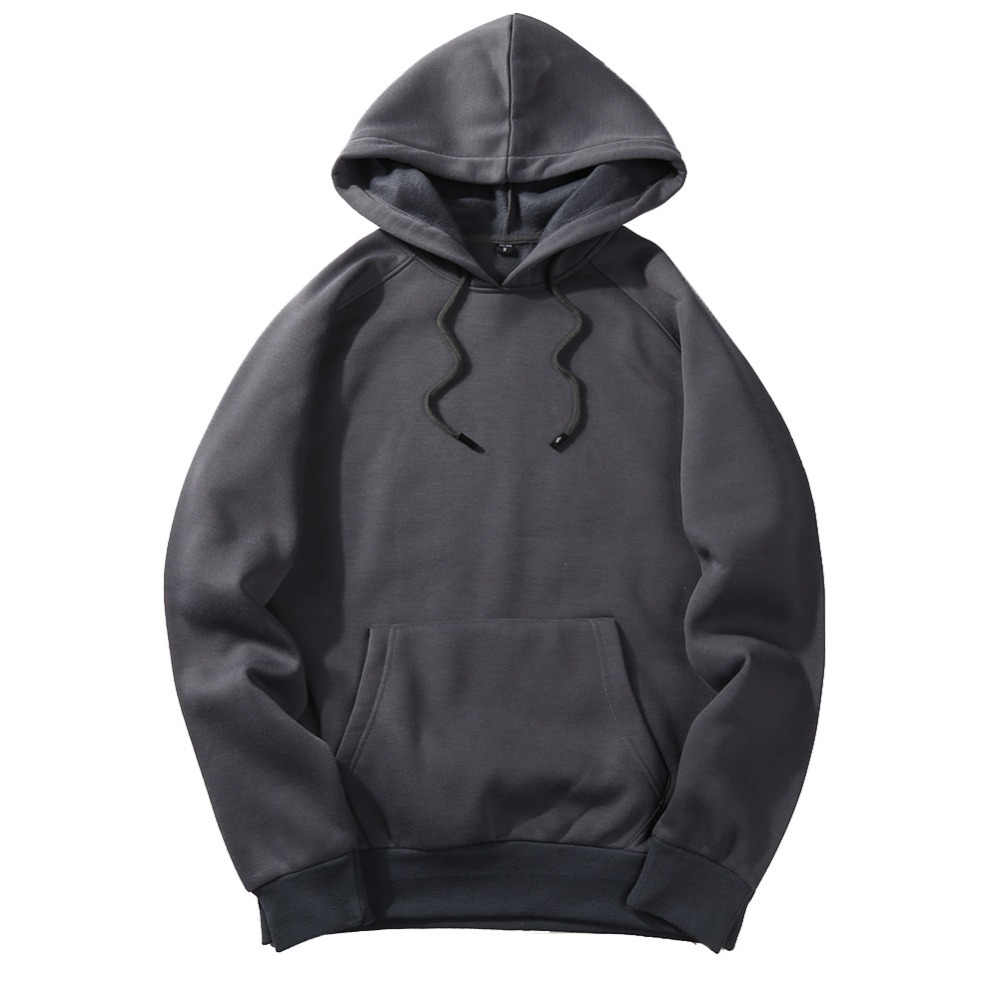 FGKKS New Autumn Fashion Hoodies Male Warm Fleece Coat Hooded Men Brand Hoodies Sweatshirts EU Size 5