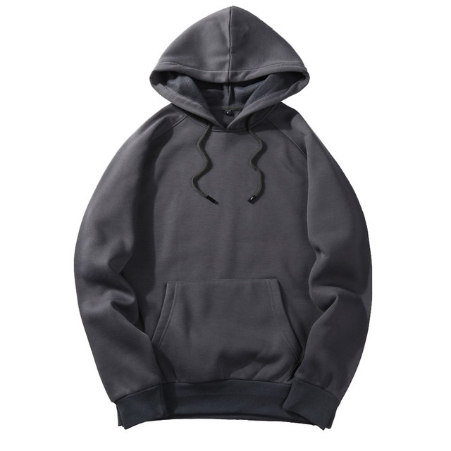 FGKKS 2018 New Spring Autumn Fashion Hoodies Male Large Size Warm Fleece Coat Men Brand Hoodies Sweatshirts EU Size