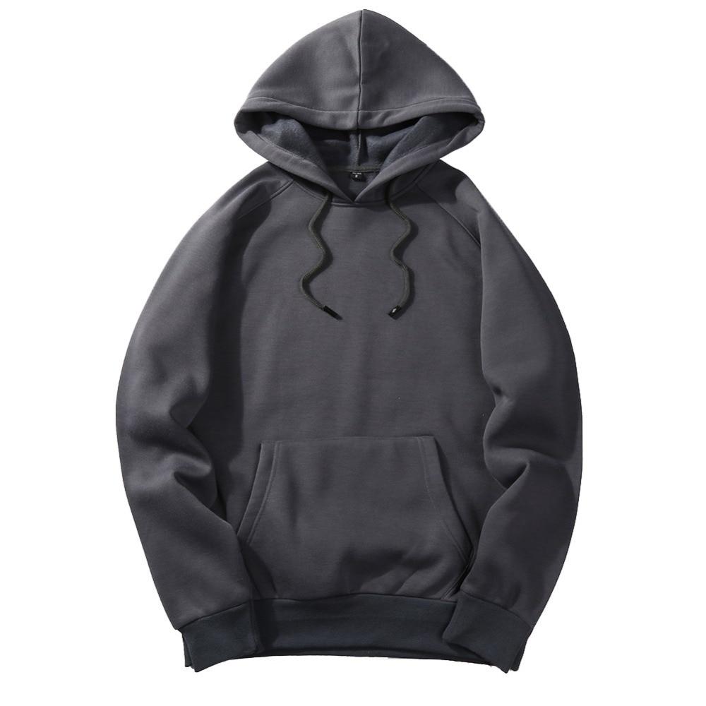 Fashion Hoodies Male Warm Fleece Coat Hooded Men Brand Hoodies Sweatshirts 4