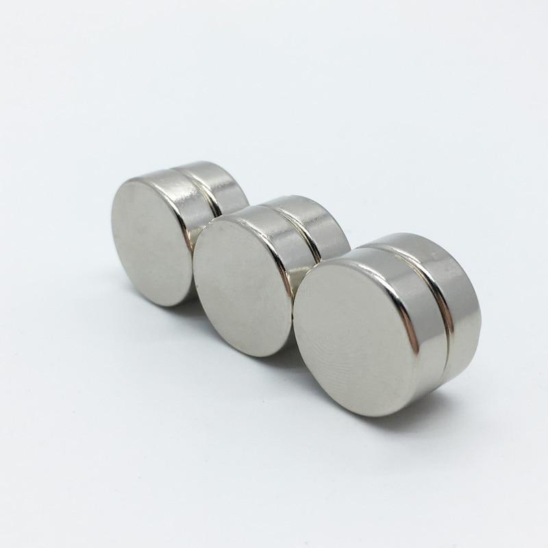 2pcs N52 Neodymium magnet 50 x 20 mm gallium metal hot super strong round magnets 50*20 Neodimio magnet  magnets 50 52