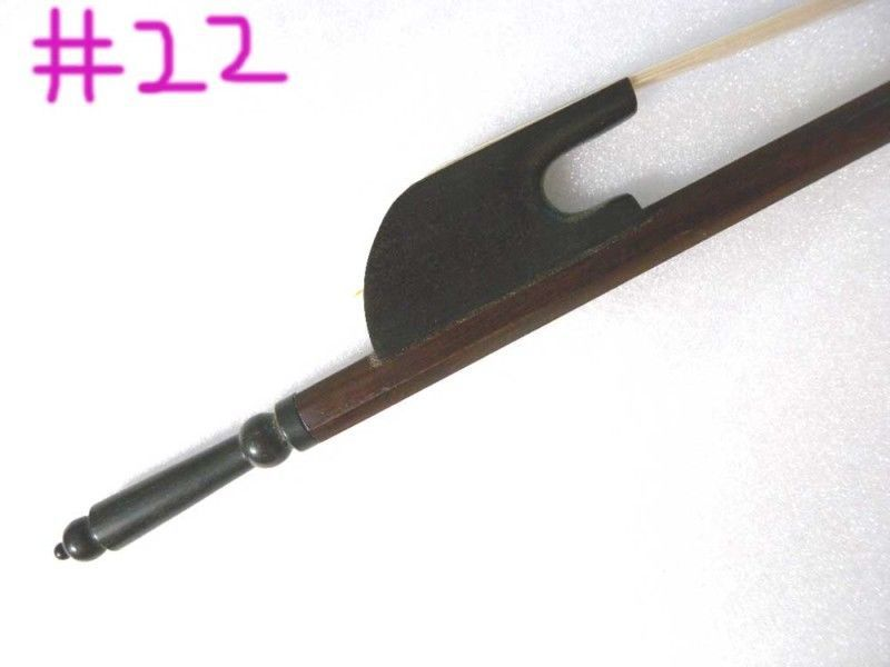 16'' New Viola Bow Ebony Frog Fast Action Straight 1 pc pernambuco viola bow ebony frog white bow hair cooper amounted