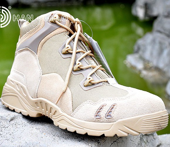 Desert Outdoor Tactical Military Army Ankle Boots Travel Climbing Breathable Men Sport Shoes Men Sneakers peak sport men outdoor bas basketball shoes medium cut breathable comfortable revolve tech sneakers athletic training boots