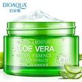 Bioaqua Natural Refreshing Aloe Vera Гель Лечение Акне Увлажняющий Отбеливания Кожи Удаление Рубцов Алоэ Суть Крем Для Лица