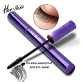 Her name Longlasting black Mascara Waterproof Curling Lengthening natural Eye Lashs makeup Cosmetics Curl Eyelash Extension 8g