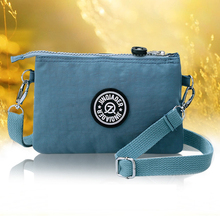 The New Female Messenger Bag Mother Waterproof Oxford Fabric Womens Bags Nylon One Shoulder Cross-body Handbag Clutch
