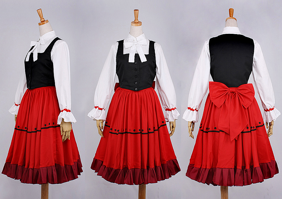 Hetalia Axis Powers hungria vestido cosplay disfraz halloween
