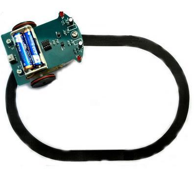 Технология DIY Интеллектуальный отслеживания автомобилей комплект D2-1 линия патрульная машина части производства электронные наука