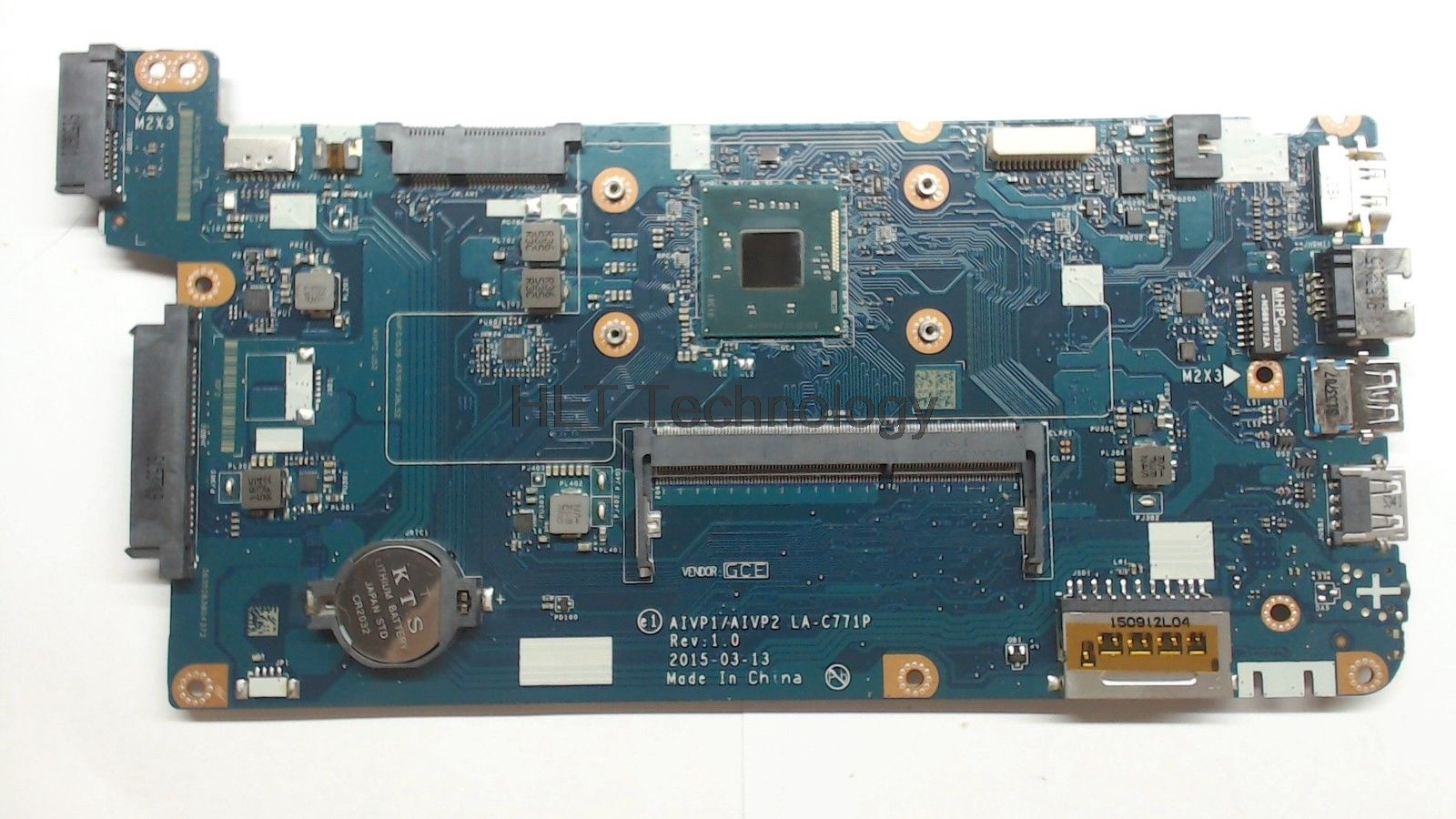 HOLYTIME Main board AIVP1 AIVP2 LA-C771P for Lenovo ideapad 100-15IBY Laptop motherboard SR1YJ N2840 CPU 100% full testedHOLYTIME Main board AIVP1 AIVP2 LA-C771P for Lenovo ideapad 100-15IBY Laptop motherboard SR1YJ N2840 CPU 100% full tested