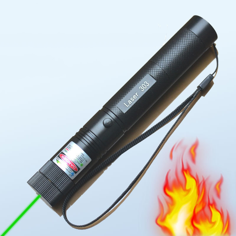 5mw Military 532nm 303 Green Laser Pointer Lazer Pen Adjustable Focus Laser Torch Focusable Burning Star Pointer Flashlight (1)
