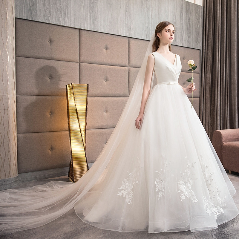 V Neck Lace Wedding Dresses: Aliexpress.com : Buy Elegant V Neck Pleated Lace Vestidos