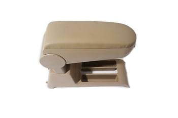 Center Console Armrest Leather Beige FOR Polo 9N 9N3