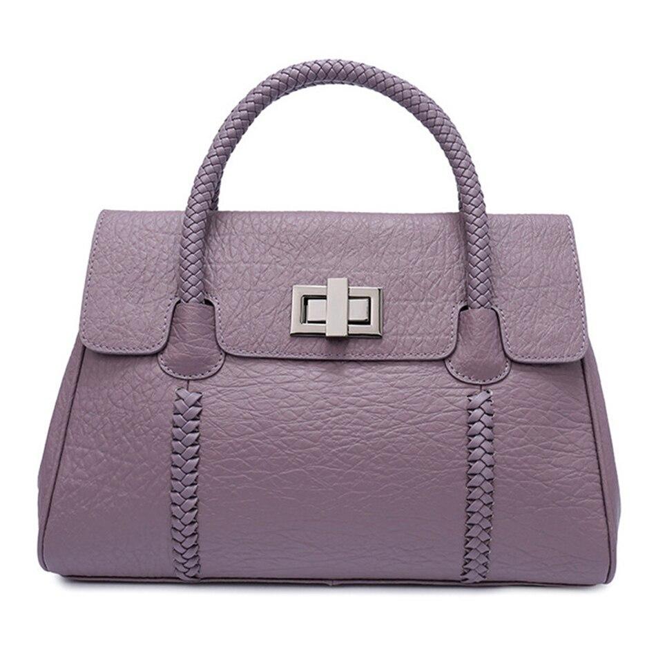 Женские кожаные сумки из натуральной воловьей кожи, вязаные bolsos mujer bandolera, многофункциональные сумки мессенджеры для женщин, sac a main femme