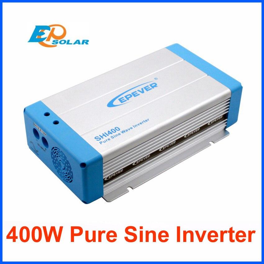 400W inverter EPEVER Brand high quality DC 12V input to 220V 230V AC output pure sine wave DC 24V input optional SHI400