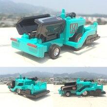 Инженерные транспортные средства, высокая моделирования 1: 60 масштаб сплава асфальтоукладчик модель, тротуарная машина, плоская дорожная машина