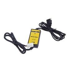 Auto Car Aux Cable Adaptador USB MP3 Player Radio adaptador forfor Toyota Camry/Corolla/Matrix 2 * 6Pin
