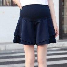 Летние шорты для беременных женщин, ежедневные шорты, женские шорты с имитацией двух частей