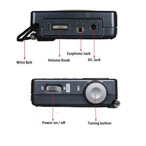 Image 5 - TECSUN – Radio réveil numérique Portable noir, affichage numérique FM/MW/SW, multi bande avec écran LCD haute sensibilité, Audio de Campus, DR 920C