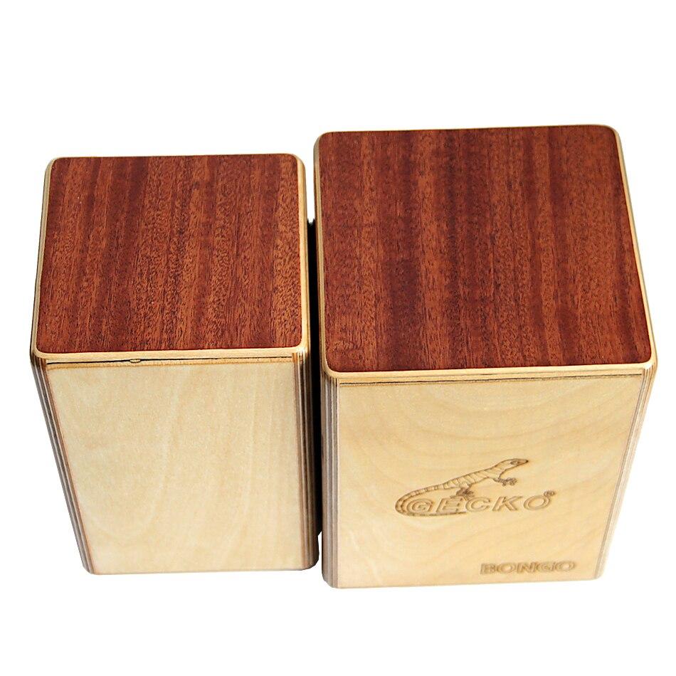GECKO BONGO-2 CS087 Cajon boîte siamoise tambours/Instruments à Percussion à main