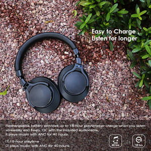 Image 3 - Mixcder E8 bezprzewodowa aktywna redukcja szumów Bluetooth słuchawki z mikrofonem nauszny zestaw słuchawkowy z głęboki bas dla TV PC telefony