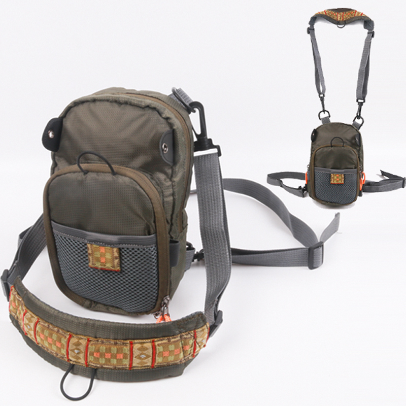 Maximumcatch Brand New Arrival Fly Fishing Bag 2 Layer Chest Pack Portable In Bags From Sports Entertainment On Aliexpress