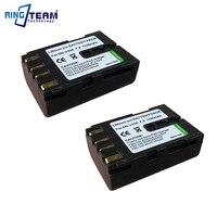 2Pcs BN V408U BN V408 Camcorder Battery and 1Pc Travel Charger for JVC Camcorder GR D32U D32U D40 D50 D50E D53 D60EK D70 D70K