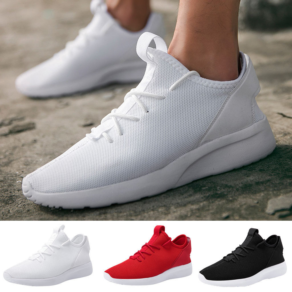 US $10.48 27% OFF|Large Size Sneakers Men Running Shoes Sports Men Trainers Outdoor Baskets Zapatos Chaussures De Course Pour Hommes|Running Shoes| |
