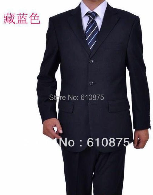 hot sale New Stylish Men's Suit Blazer Casual Slim fit One Button Pop Suit Coat Jacket Top + pants + tie