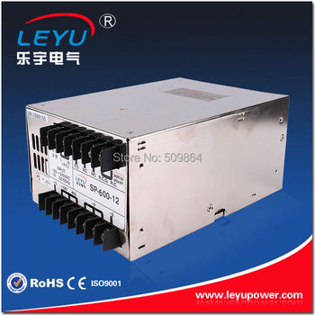 Multiple delivery 220V input Single Output AC to DC 600W 12V 50A Switching power supply