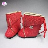 Оптом высокие сапоги Обувь для Куклы 18 дюйм(ов) 45 см American Girl куклы baby born аксессуары для Куклы