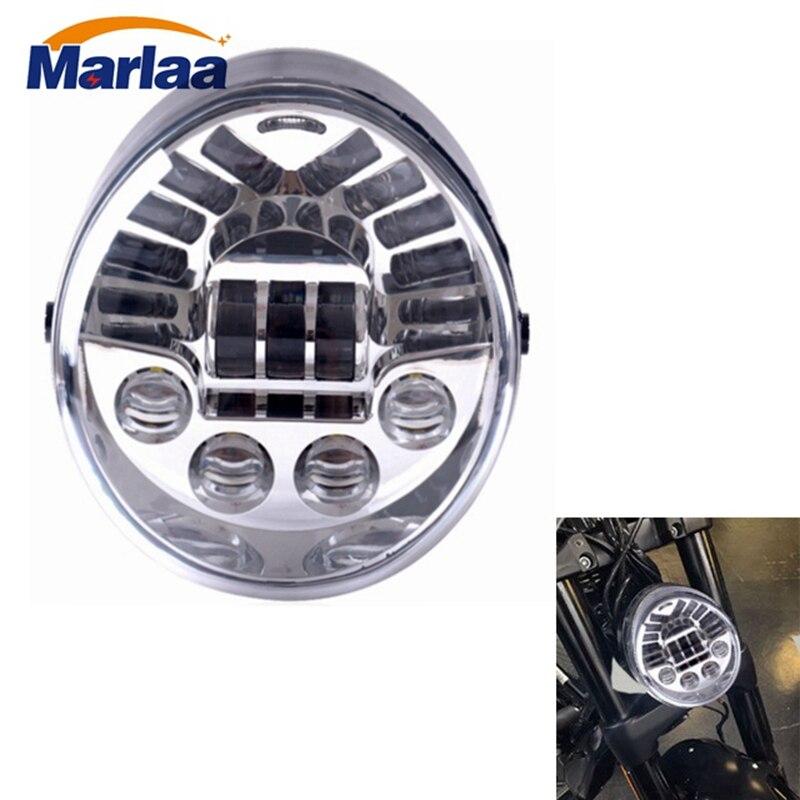 MarlaaLED Headlight Harley Daymaker Headlamp For Harley Davidson VRSCA V-Rod VRod 02-16