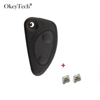OkeyTech-carcasa de llave a distancia de coche para Alfa Romeo 2/3/147 GT,...