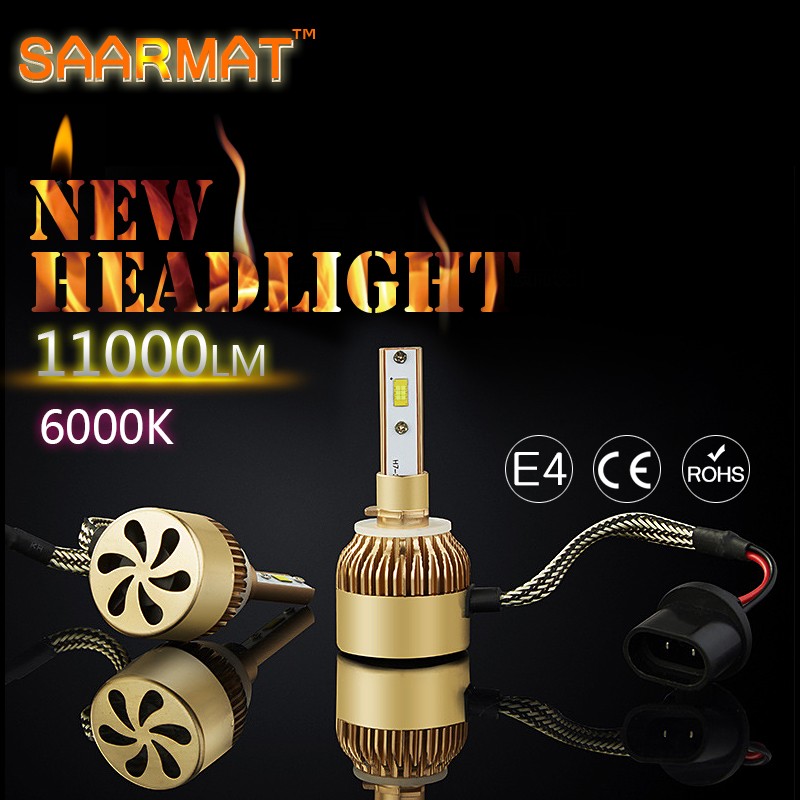 1 Pair Car LED Headlights 9005 HB3 9006 HB4 9012 H27 881 880 12V Replacement Bulbs Auto Front Headlamp Bulb DRL fog ligth 6000K 2x h7 car led headlight auto p7 h4 h11 h1 h3 h7 h8 h9 9005 9006 9012 880 881 white csp led headlights bulb fog light 12v 24v 72w