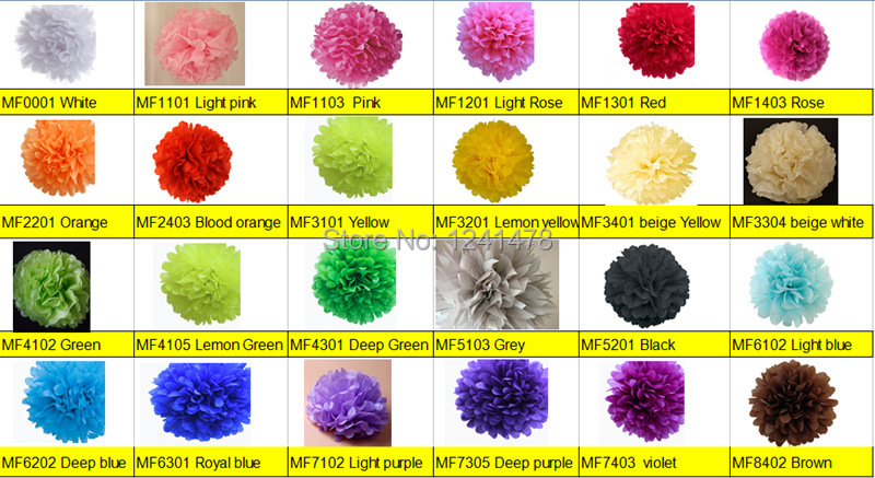26 colors available colorful paper pompoms rose baby decorations 8 26 colors available colorful paper pompoms rose baby decorations 8 20cm 3pcslot diy paper flowers balls wedding in artificial dried flowers from mightylinksfo