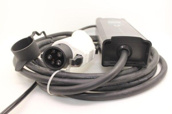 SAE j1772 EVSE carregador 10A 16A 32A 5 M 5 pinos plugue EV cee plug Tipo 1 7 pinos cabo para Carro Elétrico ev Carregador cabo de carregamento