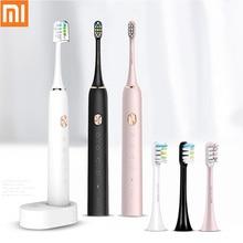 SOOCAS X3 звуковая электрическая зубная щетка перезаряжаемая Xiaomi Mijia ультразвуковая автоматическая зубная щетка для взрослых Водонепроницаемая Сменная головка