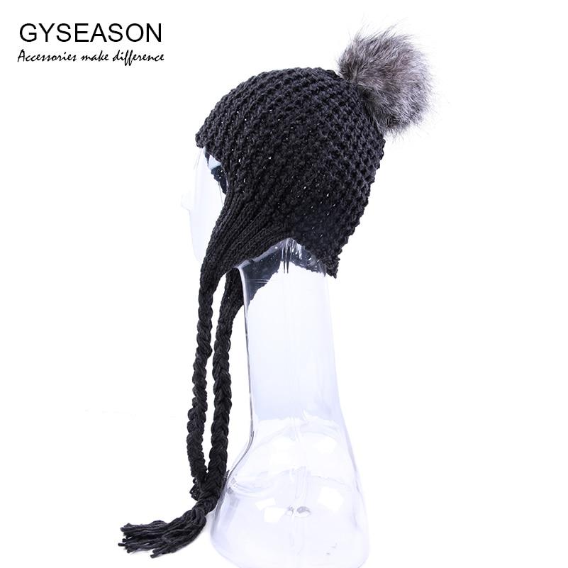 Χειμώνας Καπέλο Γυναίκες Faux Γούνινο - Αξεσουάρ ένδυσης - Φωτογραφία 1
