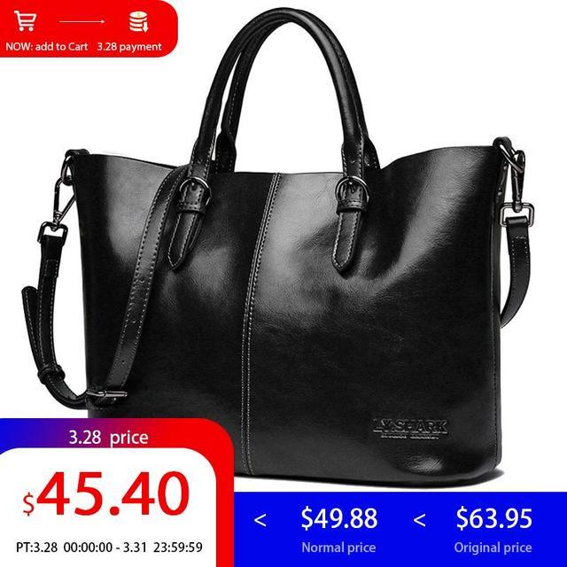 6f396bbb7 TUBARÃO grande bolsa feminina de couro legitimo bolsas femininas bolsas de  marcas famosas 2018 bolsas ...